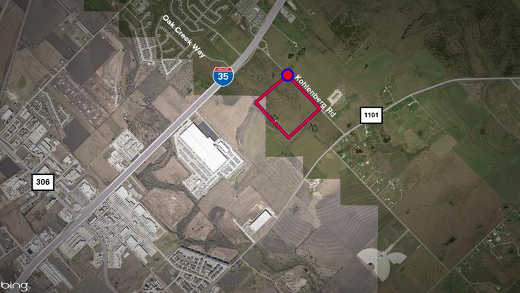 Continental bought 48 acres of land along Kohlenberg Road.