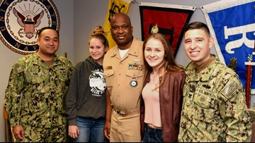 Mission SA: Twins join Navy together, continue family military legacy