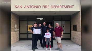 International snafu results in free pizza for San Antonio firefighters