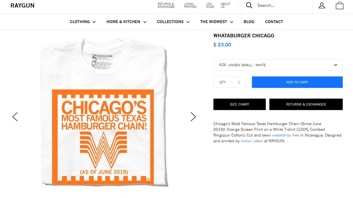 T-shirt pokes fun at Whataburger's sale to Chicago firm   kens5 com