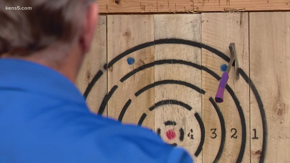 Taking a close-up look at axe-throwing | Texas Outdoors