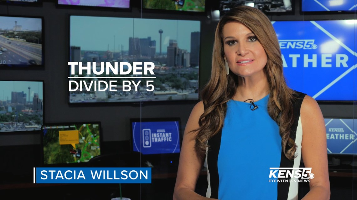 WEATHER MINDS with Stacia Willson: Use thunder math to track storm proximity