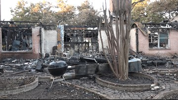 85-year-old San Antonian loses everything in house fire