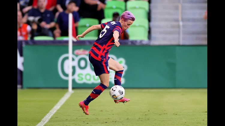 PHOTOS: Team USA shuts out Nigeria 2-0 in front of packed crowd in Austin