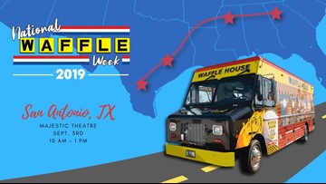 Waffle House coming to San Antonio - for one day only