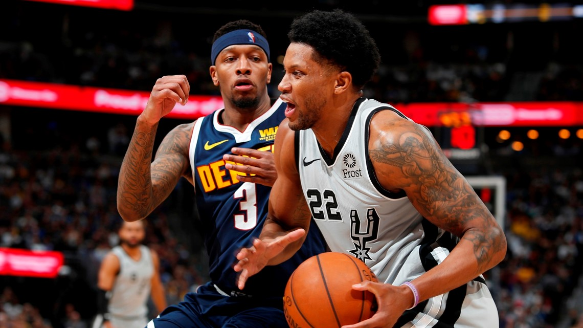 Nuggets hang on to edge Spurs 90-86, wrap up first-round series with win in Game 7