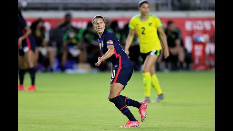 USA beats Jamaica 4-0