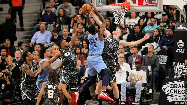 GAME BLOG: Spurs lose to Grizzlies on Tony Parker Retirement Night