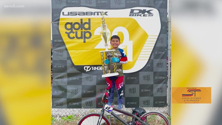 One youngster races toward the top even after facing a health setback   Kids Who Make SA Great
