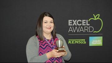 Sharon Huizar wins EXCEL for South San Antonio ISD