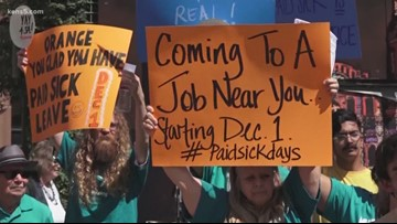 """New """"Sick and Safe Leave"""" policy to take effect Dec. 1, with some changes"""