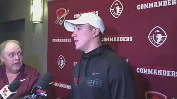 Former UTSA quarterback Dalton Sturm talks about the Commanders