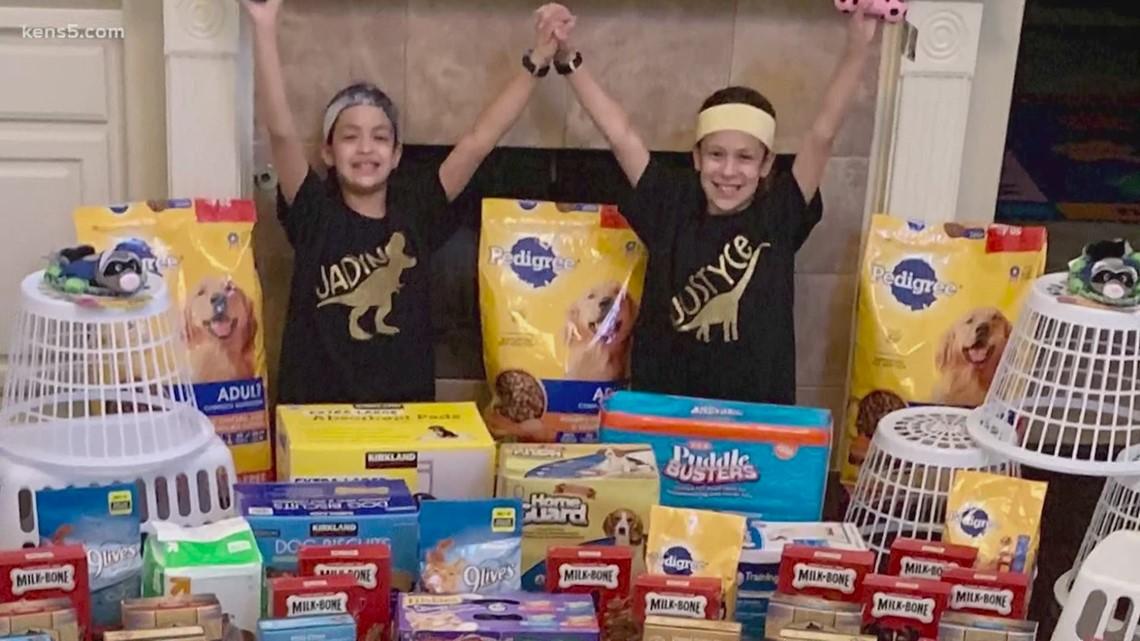 Third-grade twins donate birthday gifts to unadopted animals   Kids Who Make SA Great