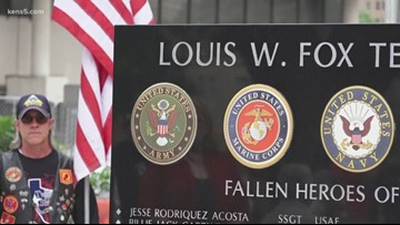 San Antonio high school unveils memorial honoring veteran alumni who died while serving