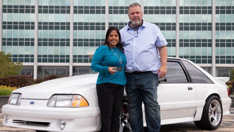 San Antonio man's beloved Mustang restored by Ford, Hennessey