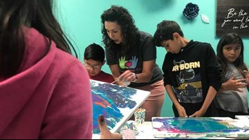Forever Family: Healing through art therapy