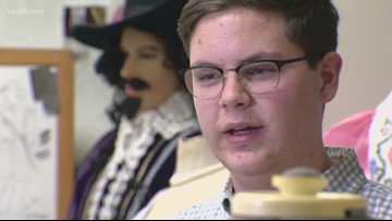Kids Who Make SA Great: Churchill High School student 'Sewing' success in theater department
