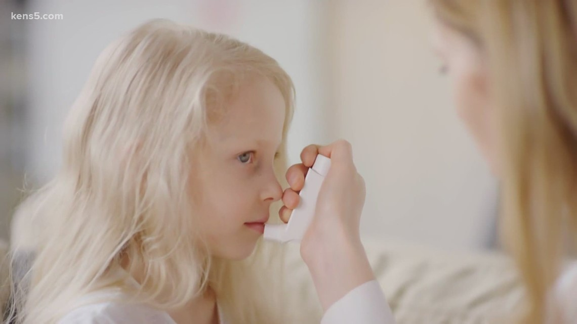 Children with asthma could suffer long-lasting damage if they contract COVID-19