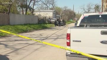 Crash devolves into officer-involved shooting in San Antonio Friday morning