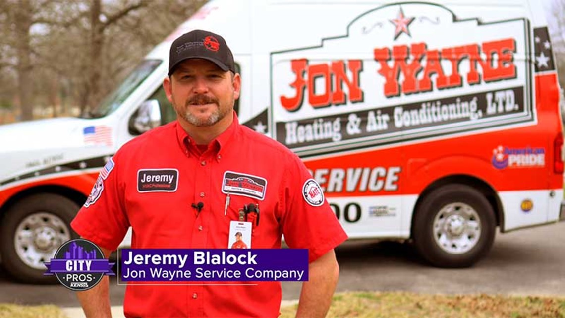 CITY PROS: Jon Wayne can perform an A/C tune-up for residential customers