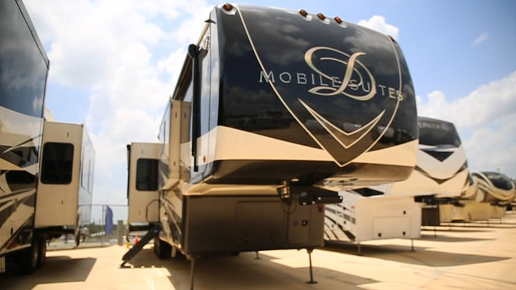 Have you ever been inside a luxury RV? See it for yourself here