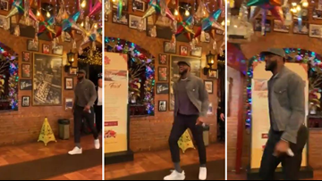 LeBron James and Lakers spotted at Mi Tierra for 'Taco Tuesday'