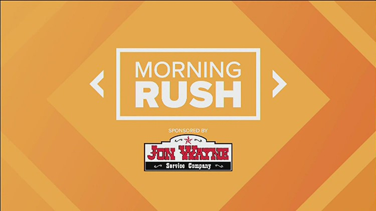 Morning Rush: Fire forces families to evacuate, Ramadan begins today and UTSA Cheer wins gold