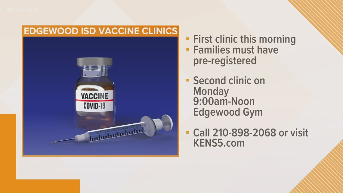 Edgewood ISD is helping families get COVID-19 vaccine