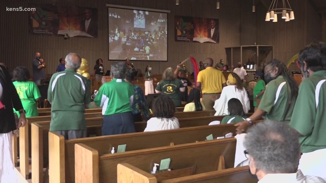 Antioch Missionary Baptist Church back in service after shutting down during pandemic