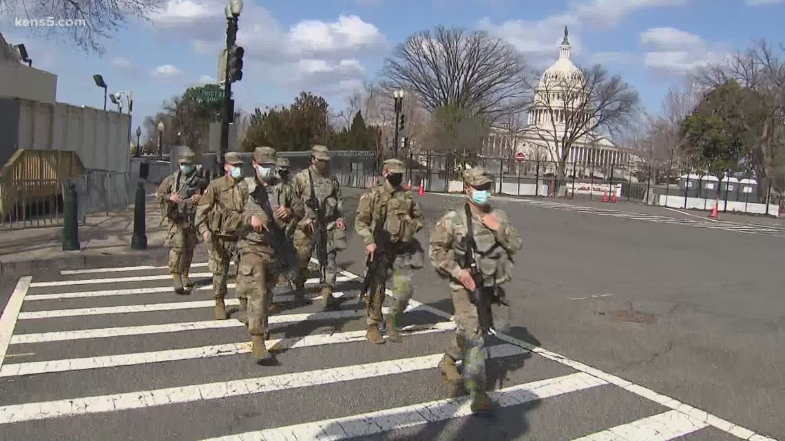 Security tightens at U.S. Capitol due to threat tied to inauguration conspiracy theory
