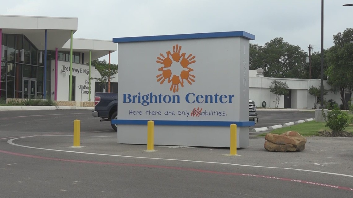 Young child climbs out of locked playground at Brighton Center, passerby finds him