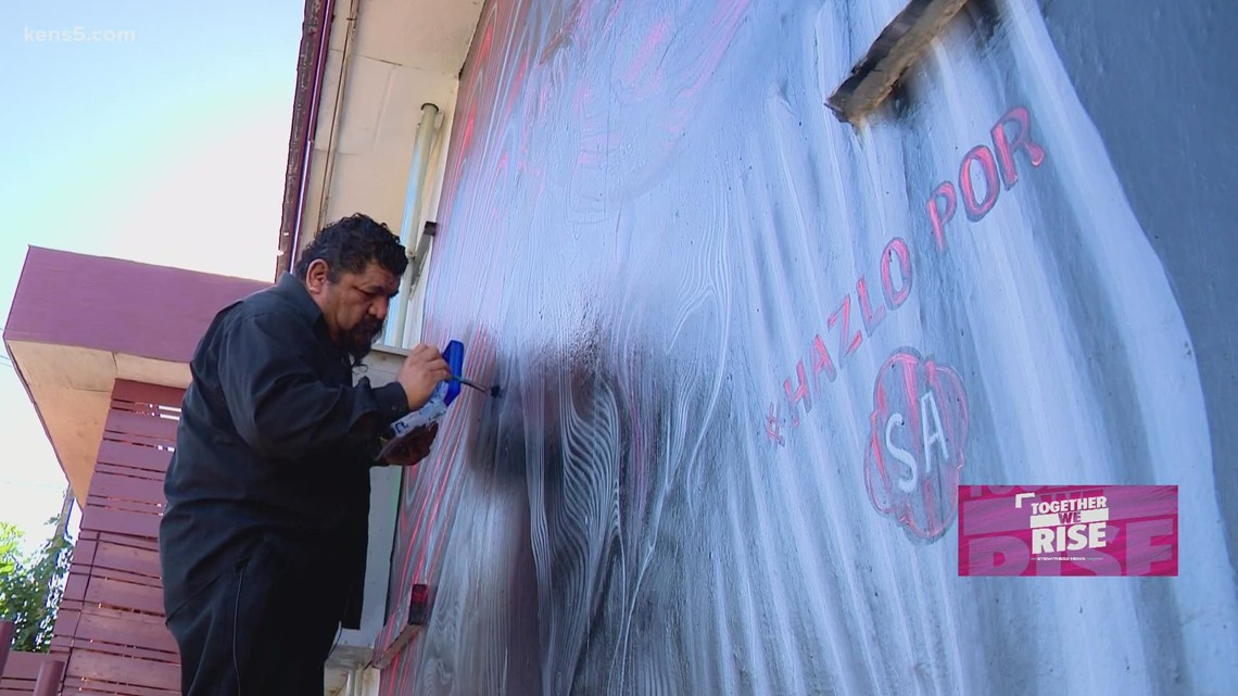 How San Antonio's murals are about more than just beautifying city streets   Together We Rise
