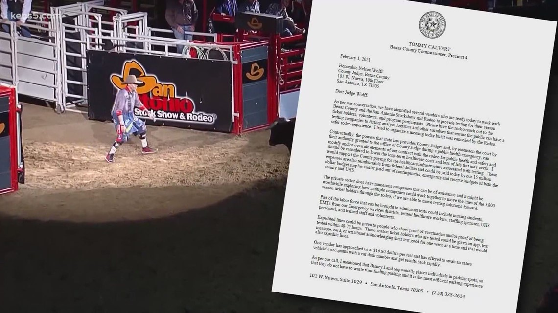 No coronavirus test requirement for San Antonio Rodeo attendees