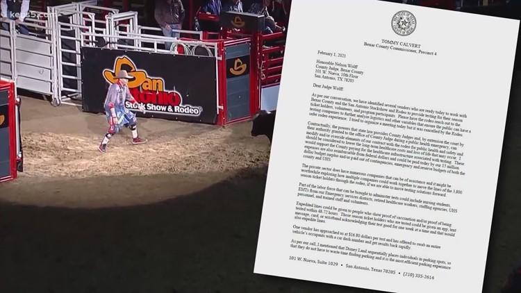 No coronavirus test requirement for San Antonio Rodeo attendees