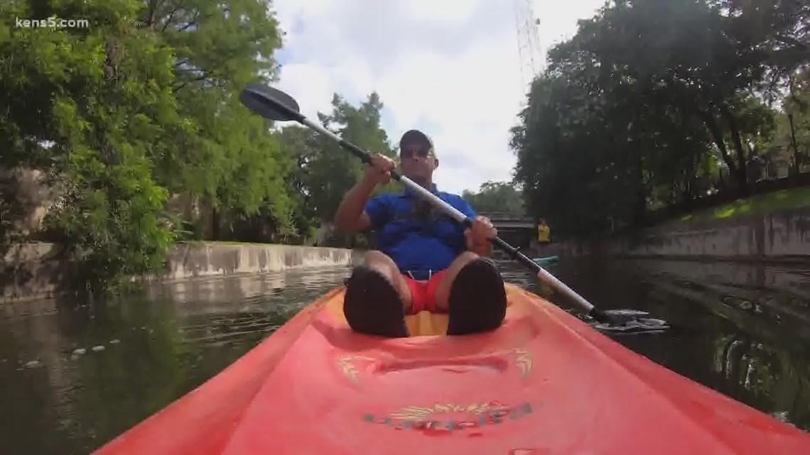 You can kayak on the San Antonio River