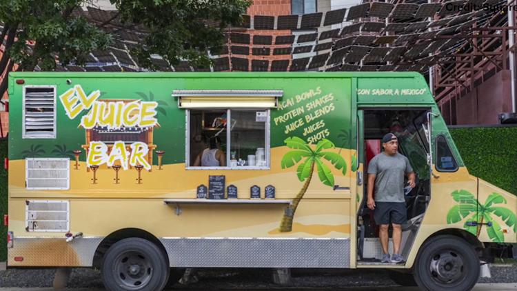'We're living our dreams' | Meet the food truck owner who started a health on wheels business, honoring his sister