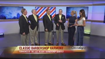 Classic barbershop harmony