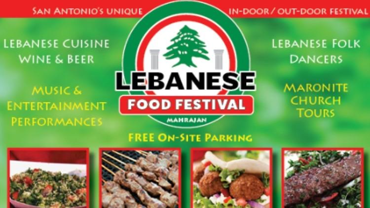 Need weekend plans? The Lebanese Food Festival is happening in San Antonio