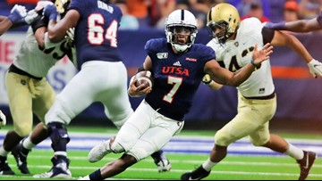 With Harris out for season, UTSA starting QB job is Narcisse's to lose