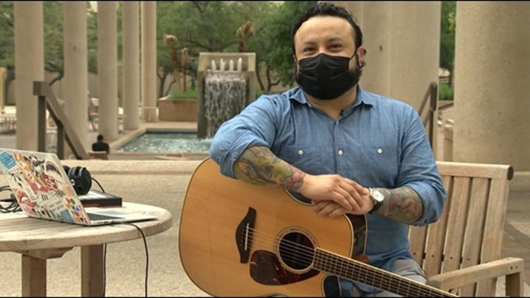 Veteran turns to music to lift up other veterans | Mission SA