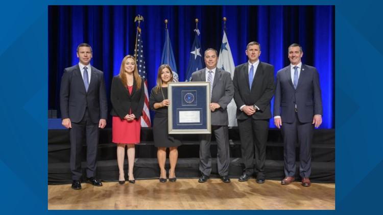 Homeland Security award