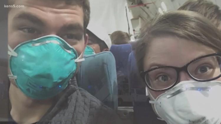 Texas couple on honeymoon cruise now quarantined at JBSA-Lackland