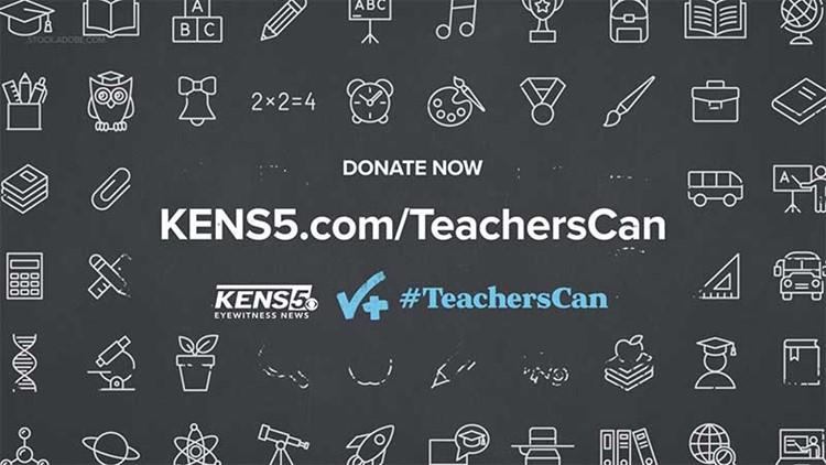 How you can help support San Antonio-area teachers through #TeachersCan