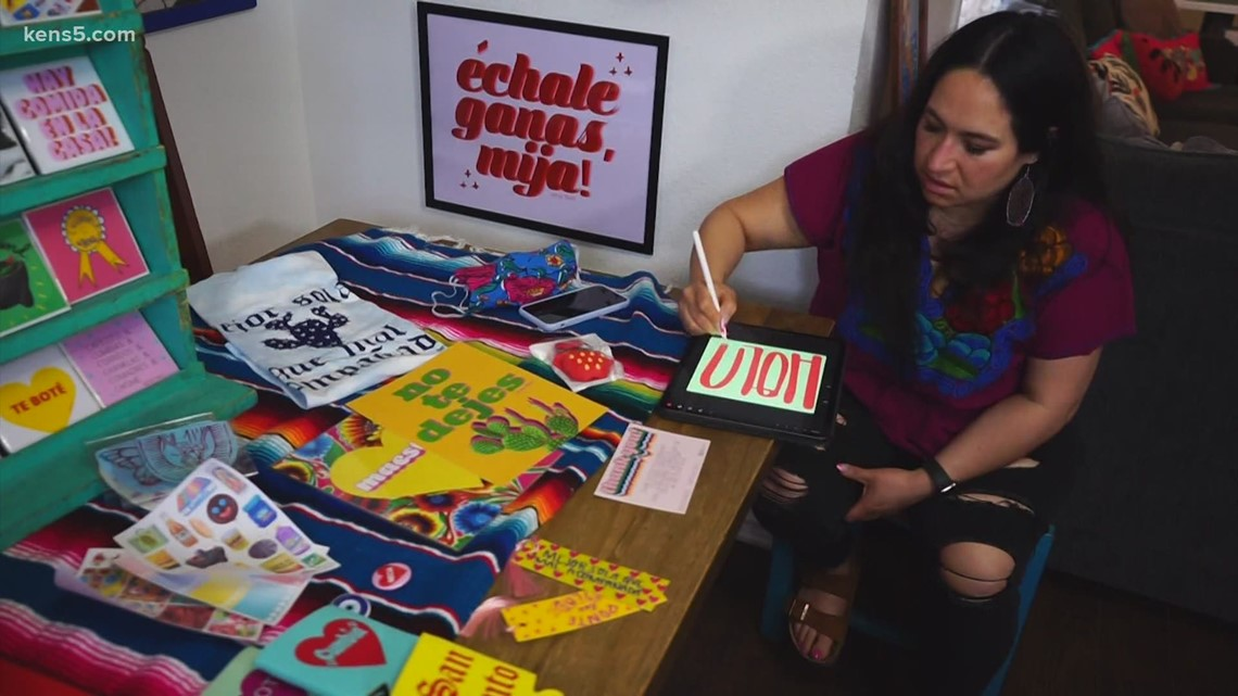 How a San Antonio woman turned phrases she's heard her whole life into a thriving business