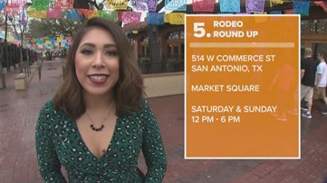 Friday 5: Rodeo Round-Up, Mardi Gras Festival and more