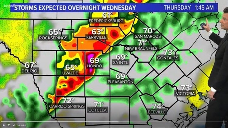 Severe weather threats Wednesday April 17