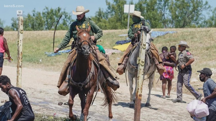 Sharpton's speech at border in Del Rio interrupted, DHS to stop the use of Border Patrol units on horseback