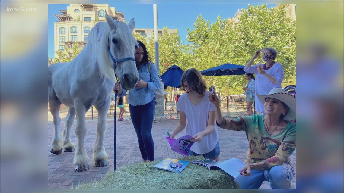 Not your average storytime: Two Ton Horse Club makes Friday stop at the Pearl