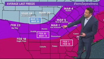 March is almost here. But have we seen the last freeze of the season?