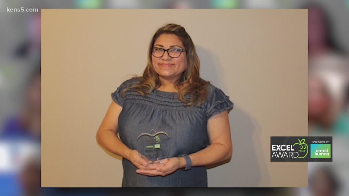Lackland ISD teacher Monica Fonseca wins this week's EXCEL Award